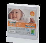 Capa Impermeável Antiácaro e Antialérgica Para Colchão Bebê ALGODÃO 170 Fios /PVC - Fechamento c/zíper