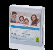 Capa Impermeável Antiácaro e Antialérgica  Para Colchão Bebê Percal 200 fios ALGODÃO/PVC Ultra Macio - Fechamento c/zíper