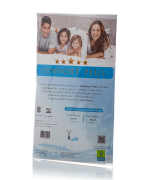 Capa Impermeável Antiácaro e Antialérgica Para Travesseiro 30cm x 40cm Percal 200 fios ALGODÃO/PVC Ultra Macio - com Zíper