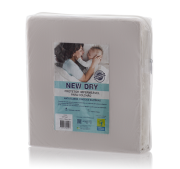 Capa Impermeável para Colchão Solteiro New Dry 100% PVC Siliconizado Vapt Vupt (Elástico)