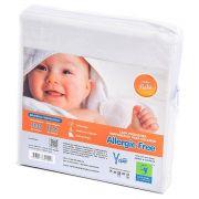 Capa Antialérgica Impermeável para Colchão Bebê ALGODÃO 170 Fios /PVC - Fechamento c/zíper