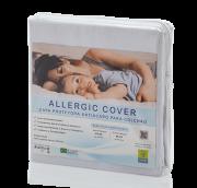 Capa Para Colchão Solteiro Antiácaro e Antialérgica Allergic Cover 100% Algodão Percal 220 Fios Fechamento c/ Zíper – Livre de PVC