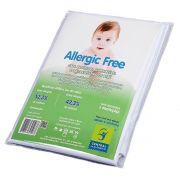 Capa Antialérgica Impermeável para Travesseiro Bebê ALGODÃO/PVC Fechamento c/zíper