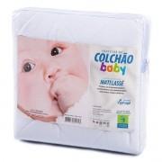 PROTETOR DE COLCHÃO 100% ALGODÃO BEBÊ PERMEÁVEL