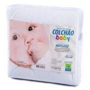 Protetor de Matelassê Permeável de Colchão Bebê 100% ALGODÃO VAPT VUPT (Elástico)