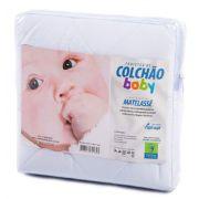 Protetor de Matelassê de Colchão Bebê POLY/ALGODÃO Permeável Vapt Vupt (Elástico)