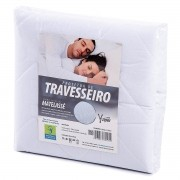 PROTETOR DE TRAVESSEIRO 100% ALGODÃO ADULTO PERMEÁVEL