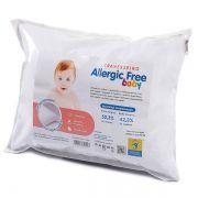 Travesseiro Antialérgico Bebê ALLERGIC FREE