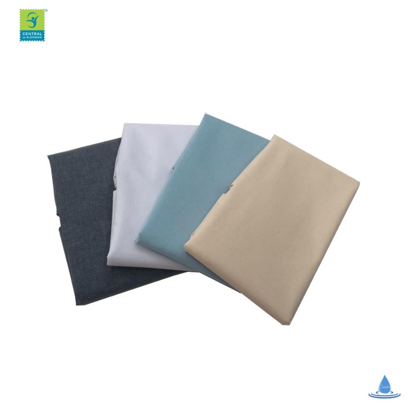 Capa Impermeável Antiácaro e Antialérgica Para Travesseiro Junior ALGODÃO 170 Fios /PVC Fechamento c/zíper
