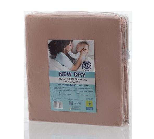 Capa Impermeável para Colchão Bebê New Dry 100% PVC Siliconizado Vapt Vupt (Elástico)