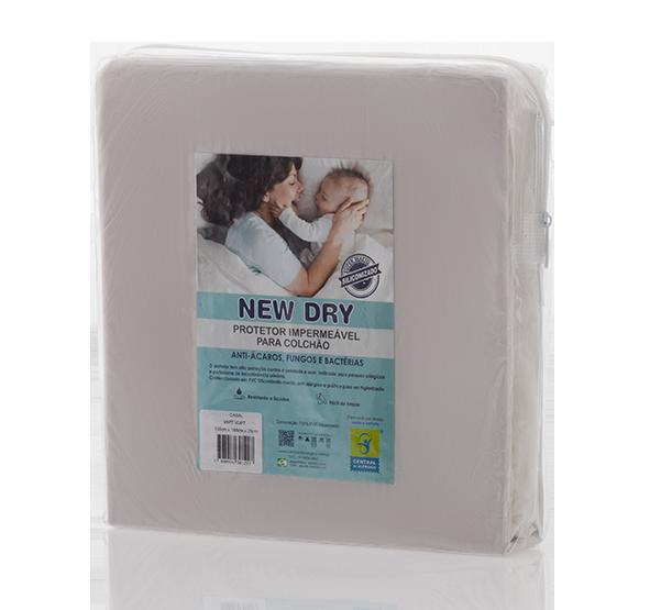 Capa Impermeável para Colchão Casal New Dry 100% PVC Siliconizado Vapt Vupt (Elástico)