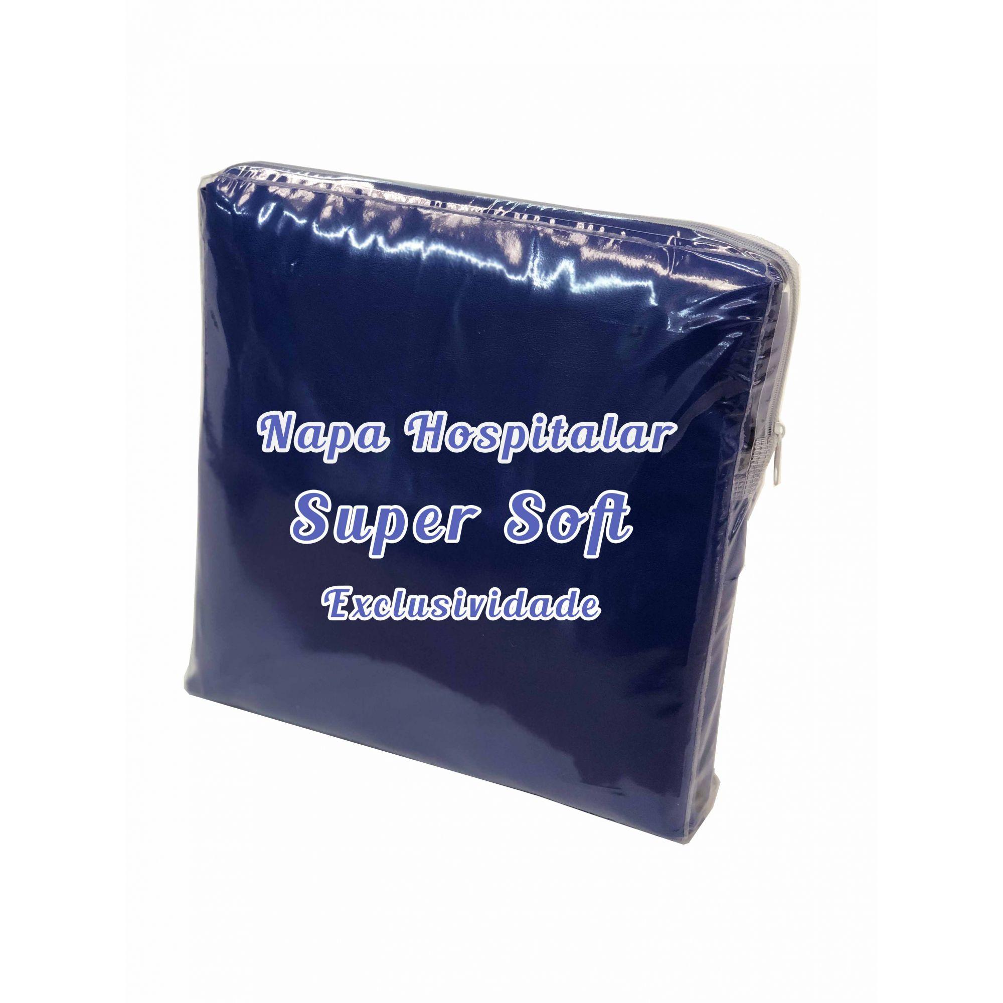 Capa Impermeável Para Colchão King Napa Hospitalar Super Soft - Fechamento c/zíper