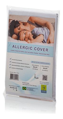 Kit 3 Capas Para Travesseiro 50cm x 70cm Allergic Cover