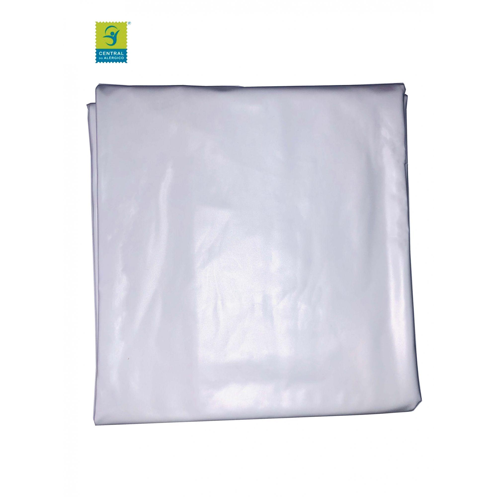 Traçado (Oleado) Impermeável 100% PVC Tam: 1,40 x 1,60cm - Protege o colchão em casos de incontinência urinária.