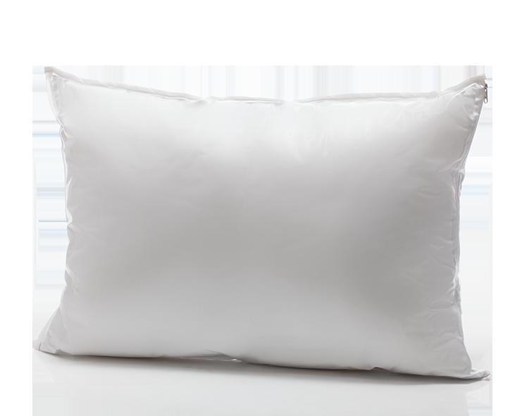 Travesseiro Adulto Antialérgico ALLERGIC FREE - Acompanha Capa 100% Algodão/ PVC