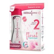 Kit Sabonete Íntimo Dermafeme Floral - 2 unidades
