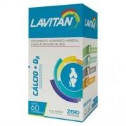 Lavitan Cálcio +D3 - 60 Comprimidos