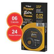 Preservativo Preserv Extra Premium 0,02 - 24 unidades