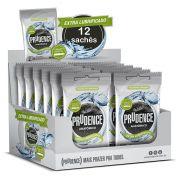 Preservativo Prudence Anatômico Extra Lubrificado 12 Sachês