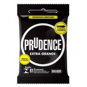 Preservativo Prudence Extra Grande - 12 Sachês