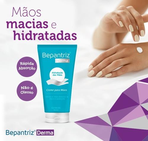 Bepantriz Derma Creme para as Mãos  - Condomania