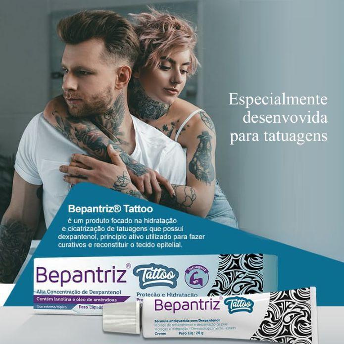 Bepantriz Tattoo Creme para Tatuagens  - Condomania