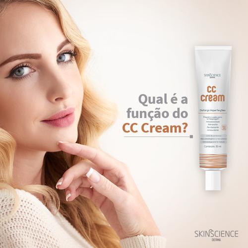CC Cream Disfarça Imperfeições Skinscience  - Condomania