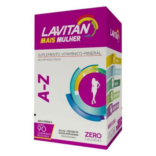 Lavitan A-Z Mais MUlher - 90 Comprimidos  - Condomania