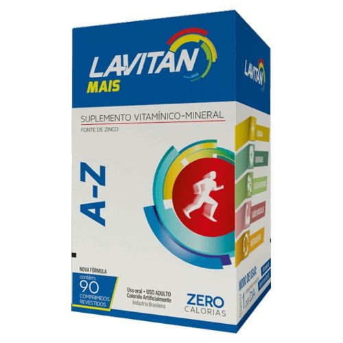 Lavitan MAIS AZ - 90 Comprimidos  - Condomania