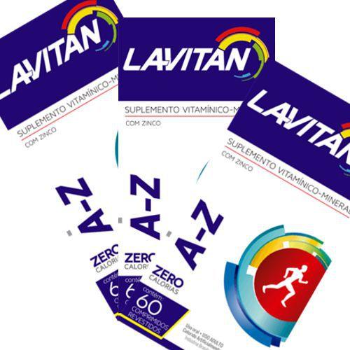 Lavitan AZ - 180 Comprimidos  - Condomania