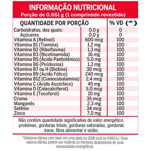 Lavitan Energia - 60 Comprimidos  - Condomania