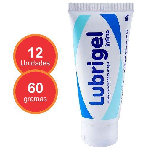 Lubrificante Íntimo Lubrigel - 12 unidades  - Condomania