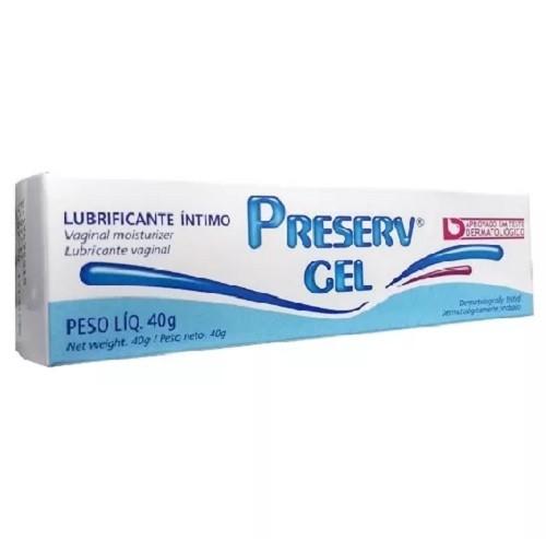 Lubrificante Íntimo Preserv Gel 40 g  - Condomania