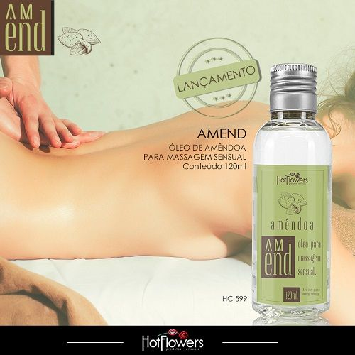 Óleo de Massagem - Amend  - Condomania