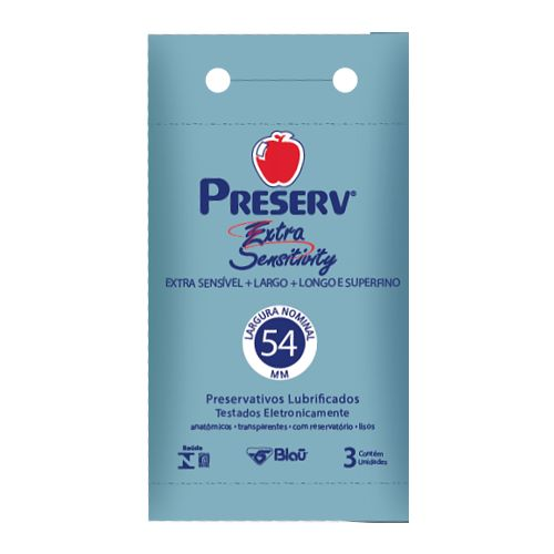 Preservativo Preserv Extra Sensitivity  - Condomania
