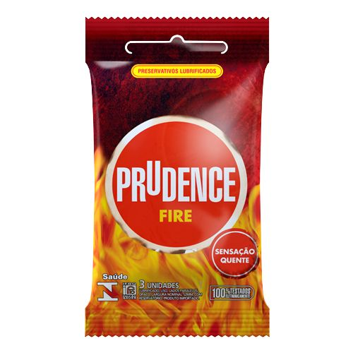 Preservativo Prudence Fire  - Condomania