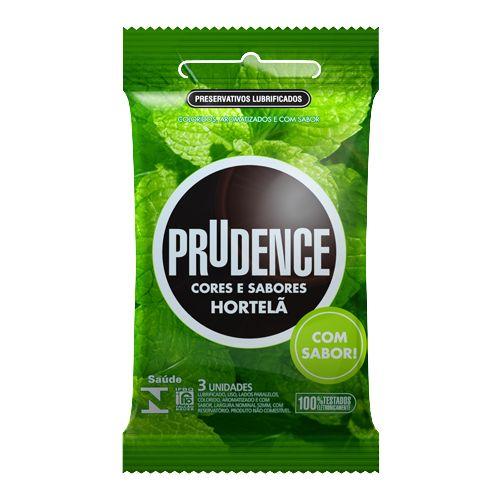Preservativo Prudence Hortelã  - Condomania