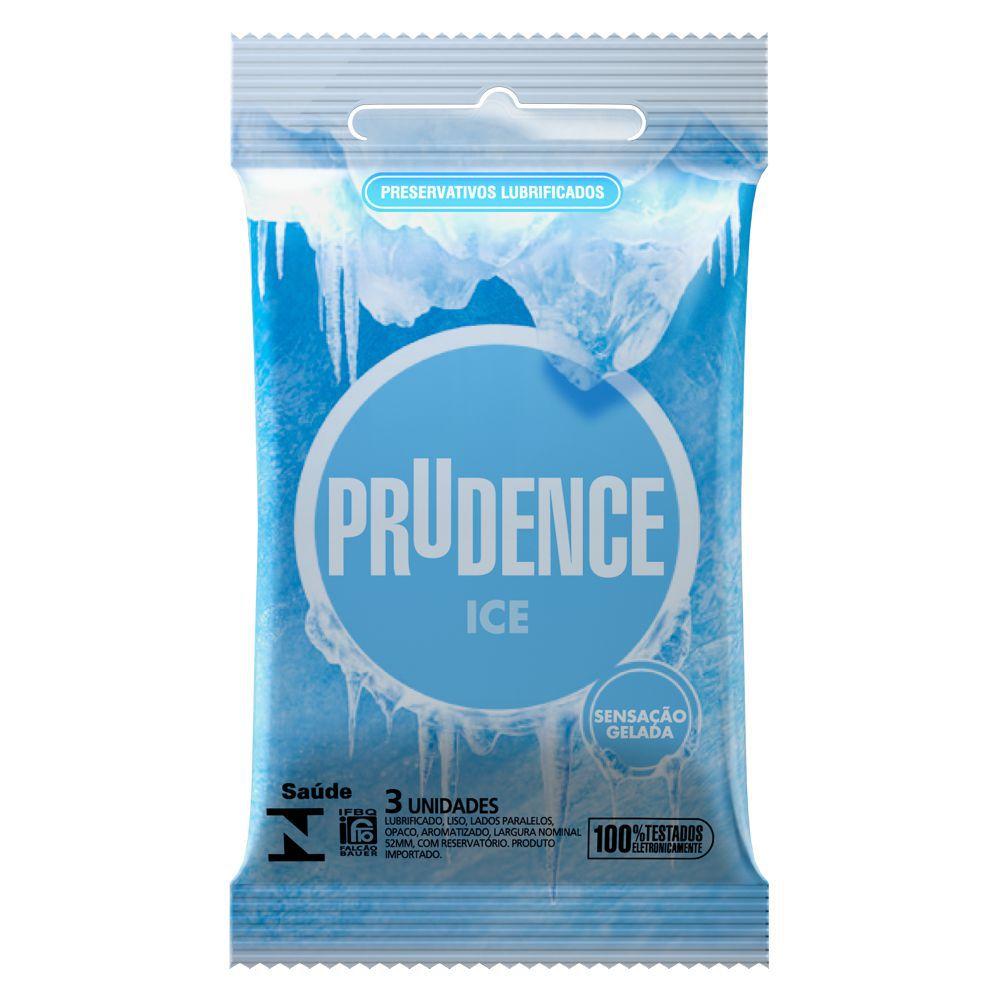 Preservativo Prudence Ice - 12 sachês  - Condomania