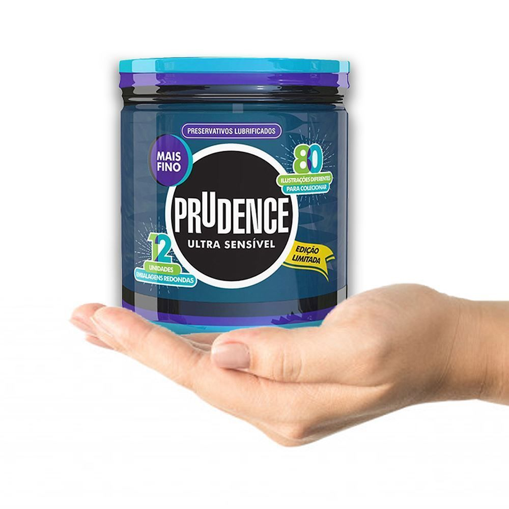 Preservativo Prudence Ultra Sensível Redondinha  - Condomania