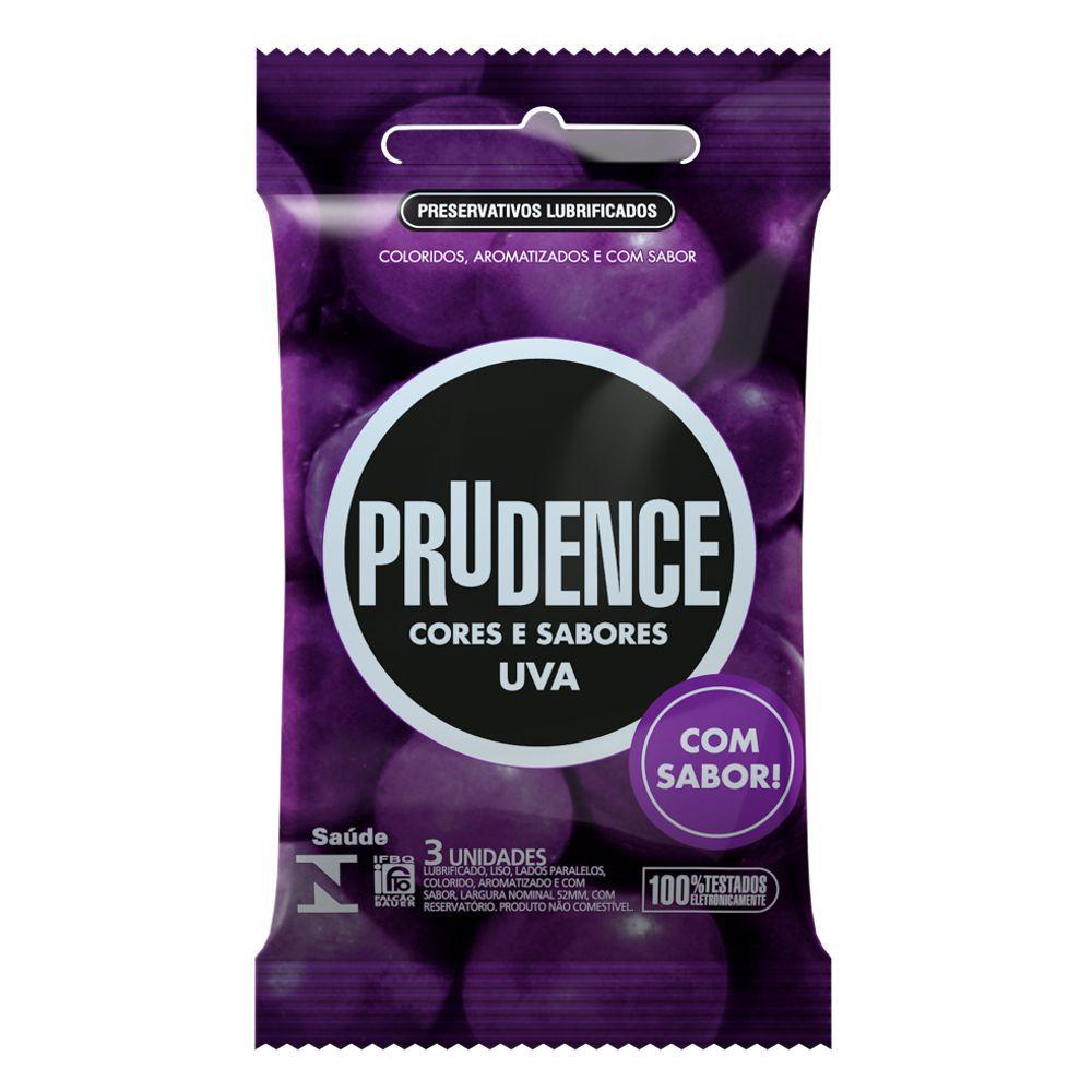 Preservativo Prudence Uva 12 sachês  - Condomania