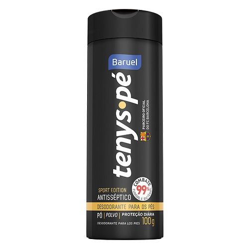 Tenys Pé Baruel Sport Edition Pó - Desodorante para os Pés  - Condomania
