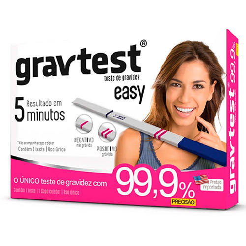 Teste de Gravidez Grav Test Easy  - Condomania