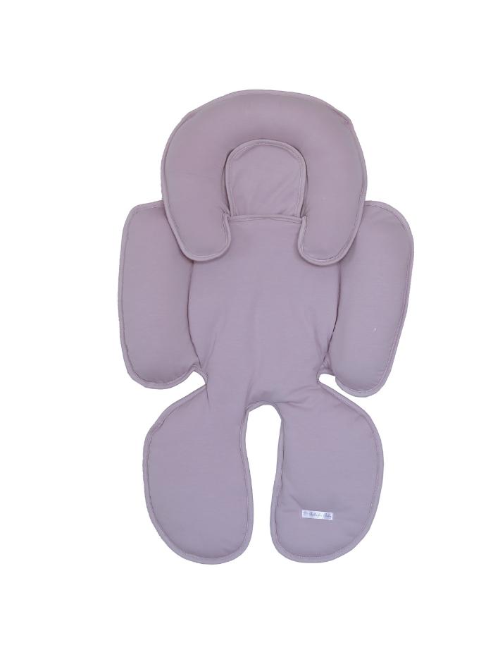 Bebê Fofo - Almofada de Apoio para bebê - Suedine - Rosa