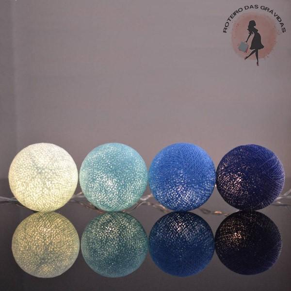 Bola de luz - Céu Azul