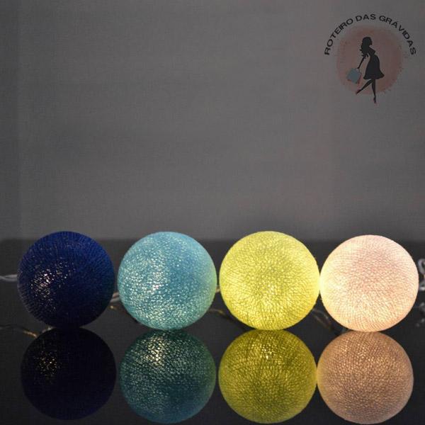 Bola de luz - Mar