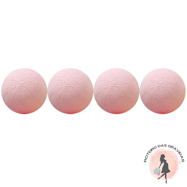 Bola de luz - Rosa bebê