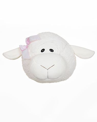 Cabeça de Ovelha para Decoração