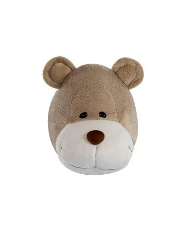 Cabeça de Urso Bochecha para Decoração