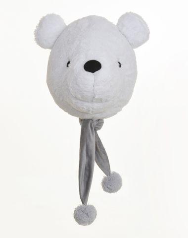 Cabeça de Urso Polar para Decoração