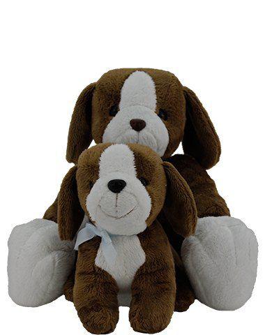 Cachorrinho Baboo & Baboo Jr. - Marrom Claro